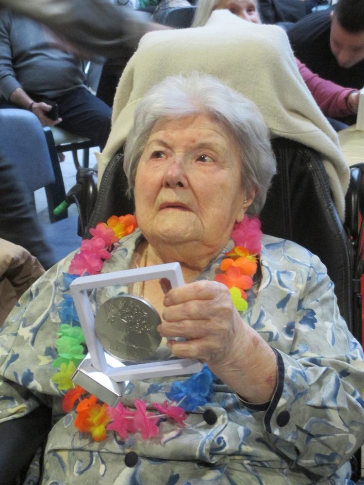 Les centenaires à l'honneur à la maison de retraite sainte Victoire