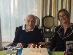 100 ème anniversaire à la maison de retraite Sainte Victoire Aix en Provence