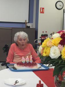 anniversaire à la maison de retraite sainte victoire