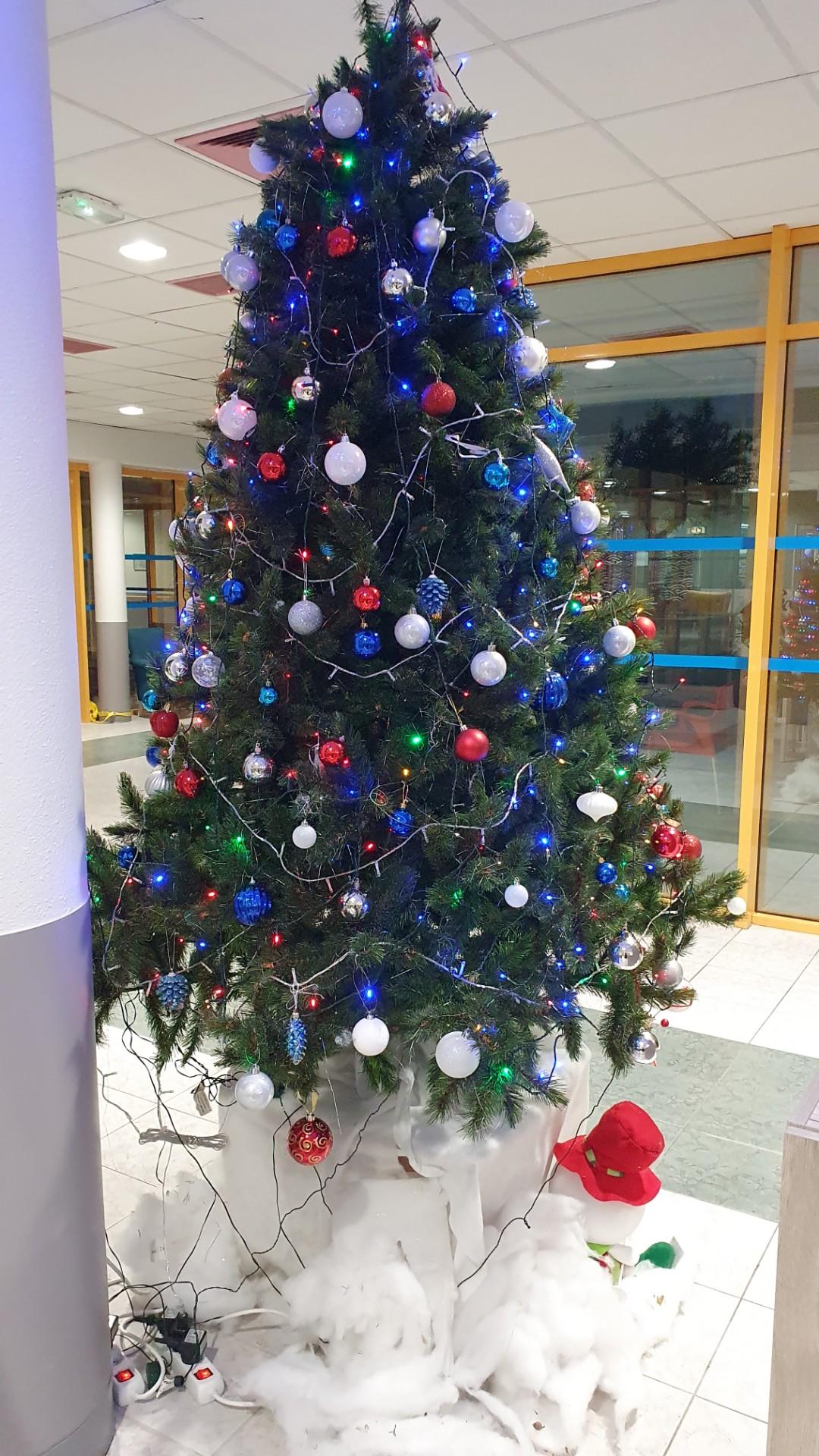 Les décorations de Noël… A Sainte Victoire