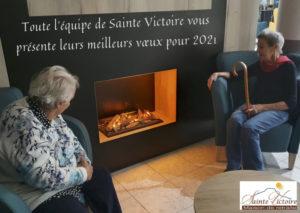 Bonne année de Sainte Victoire, maison de retraite à Aix en Provence